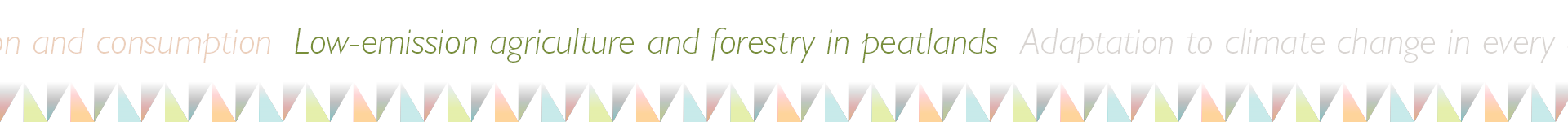 low-emission agriculture and forestry in peatlands